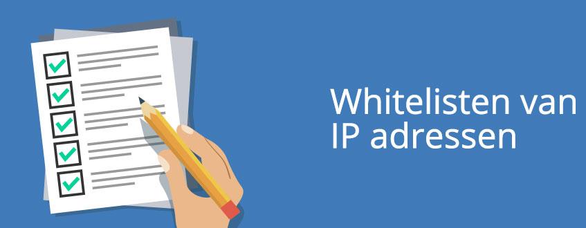 Het whitelisten van IP adressen als proxy authenticatie methode