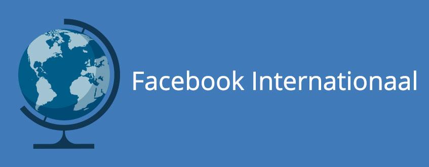 Facebook inzetten voor uw internationale website