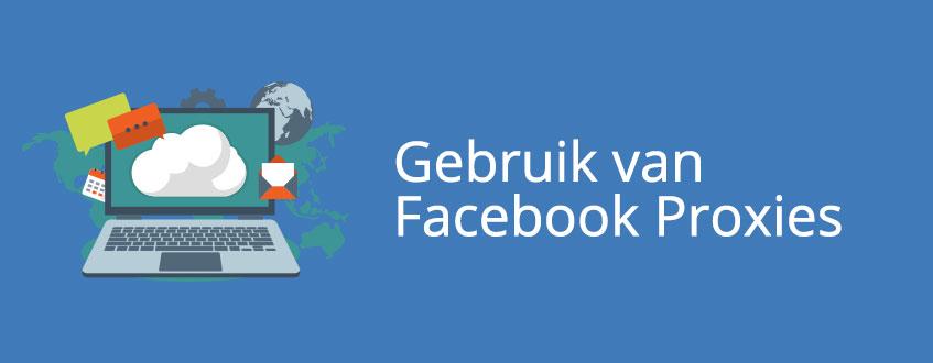 Het gamakkelijk gebruiken van de aangeschafte Facebook proxy